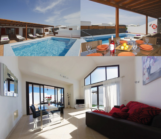 Accommodation Villas Lanzarote Dinghycoach